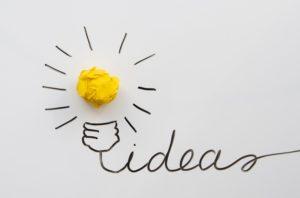 idea creativa e innovativa utile a diventare un imprenditore